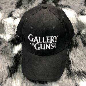 Gallery of Guns Black Adjustable Baseball Cap Hunt